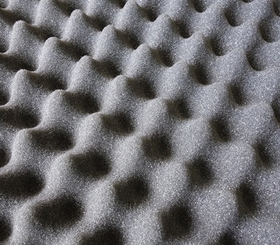Wavy Grey Packaging Material Foam Abstract Pattern 1464132